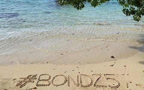James Bond's latest nemesis to be revealed as beach picture teases new 007 film