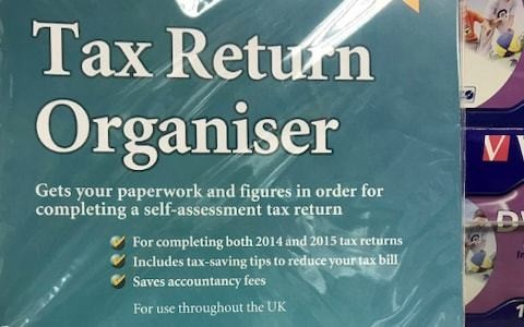 WH Smith sells £25 tax return guide that's five years out of date