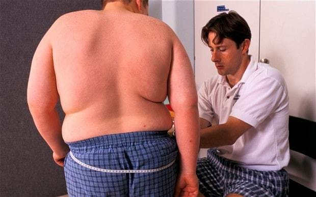 Three quarters of British men will be overweight or obese by 2030