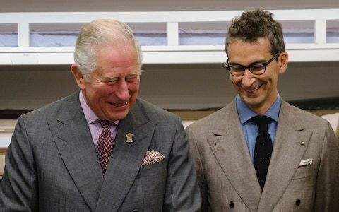 The story behind Prince Charles' debut fashion collection