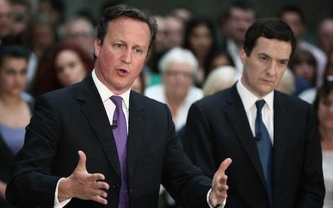 Britain faces a 'recession of its own making' if we vote for Brexit, David Cameron and George Osborne warn