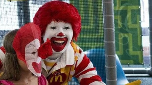 Ronald McDonald keeping a lower profile while 'creepy clown' sighting on the rise
