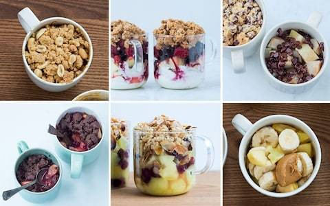 Mug crumbles: the best 3-minute microwave recipes