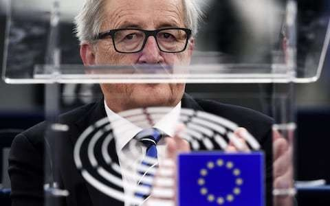 EU leaders turn on each other over Brexit negotiation tactics, as David Davis warns them border controls are not up for discussion