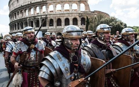 Roman Empire did not fall because of plague, study claims