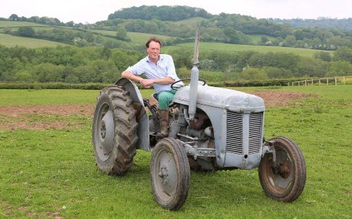 One farmer, one English field - and a dream to create a wildlife utopia