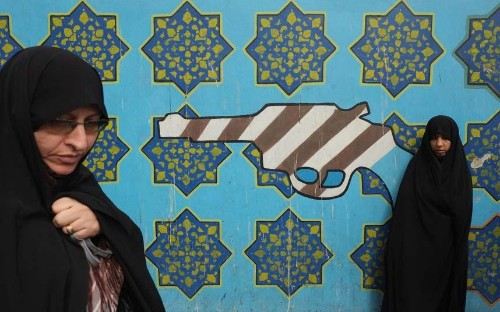 Iran: Inside the off-limits US Embassy in Tehran