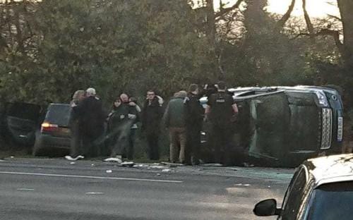 Prince Philip crash: Police investigating Duke car crash which left two women hospitalised