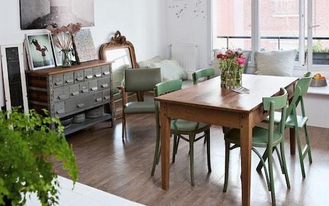 The Parisian apartment of a creative couple