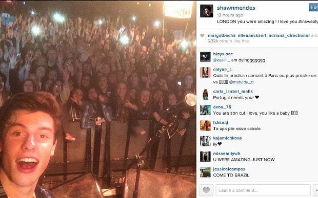 Shawn Mendes: what happened at the Vine star's sold-out London gig