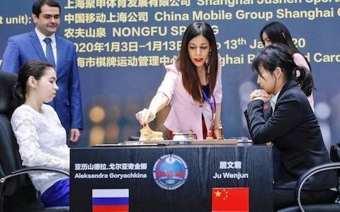 Iran chess referee says she won't return home after pictures without headscarf go viral in Iran