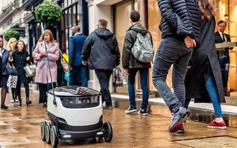 Starship launches 'world's first robotic milk round' in Milton Keynes