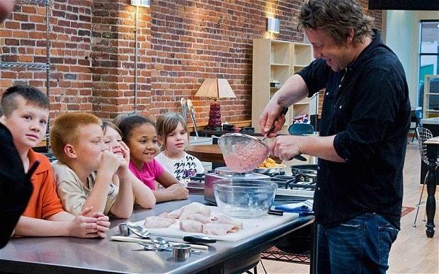 Jamie Oliver's recipe for discipline is surprisingly cruel