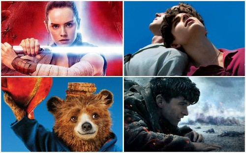 From Star Wars: The Last Jedi to Get Out: the best movies of 2017
