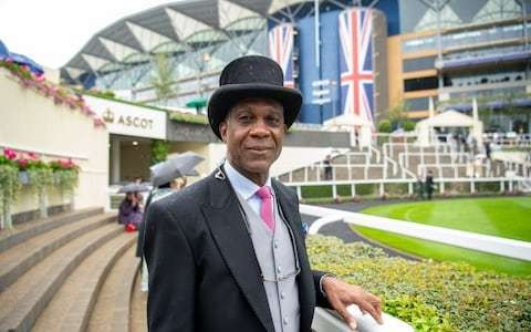 Michael Holding and Sir Michael Stoute are on to a winner at Ascot