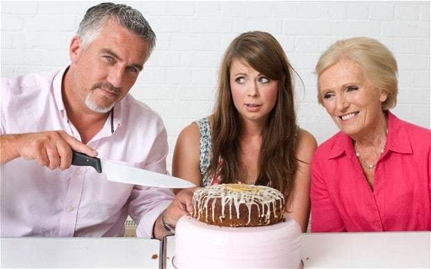 The Great British Bake Off: Baking for the King and Queen of Cake