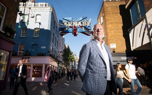 The London landlord who is taking over the West End