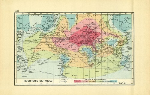 Mapped: how long did it take to travel the world 100 years ago?