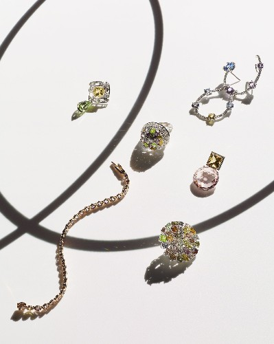 How pastel tones are bringing a lighter look to high-end jewellery