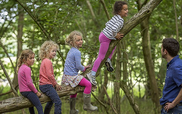 Reading, writing and mud: the growth of Forest Schools