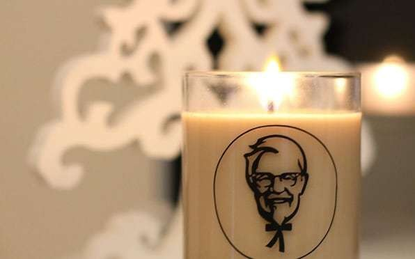 Get a KFC candle and make your room smell like fried chicken