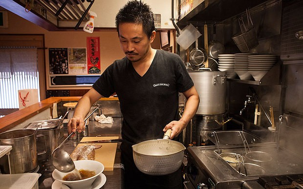 Tokyo chef fuels ramen renaissance with his Michelin-starred noodles