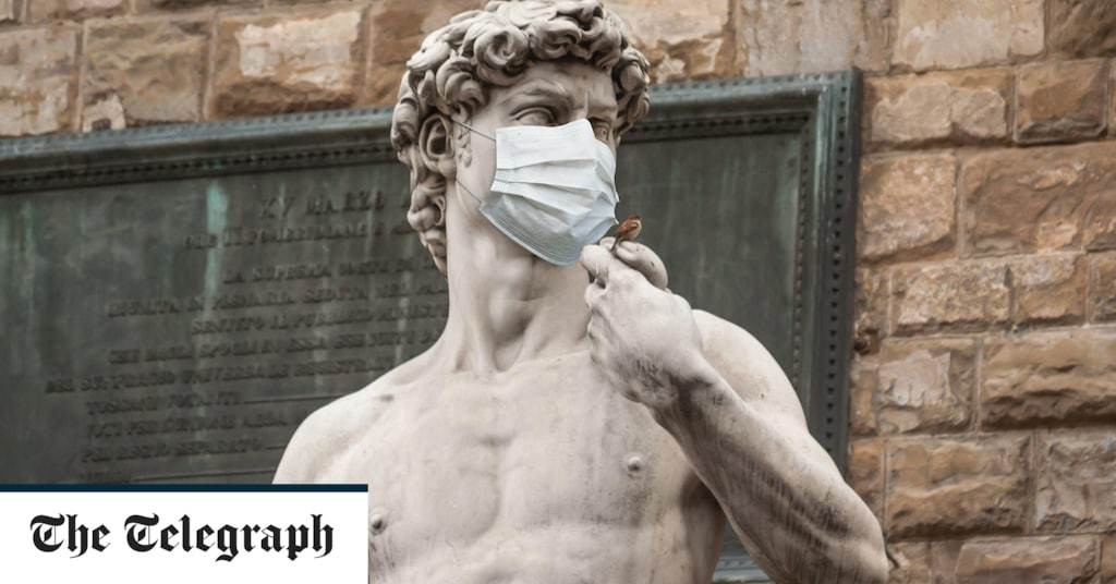 Why the face mask will be a relic of the Covid catastrophe