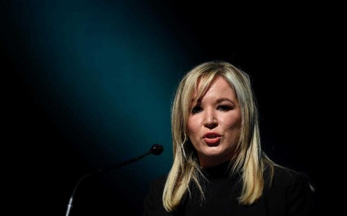 Michelle O'Neill replaces Martin McGuinness as Sinn Fein leader at Stormont