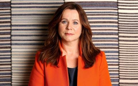Emily Watson on her rebellious youth, her bulls--- radar and how she's a big fan of Stellan Skarsgard