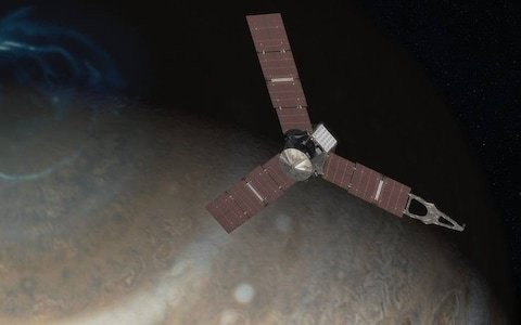 Nasa spacecraft Juno makes closest ever approach to Jupiter in breakthrough mission