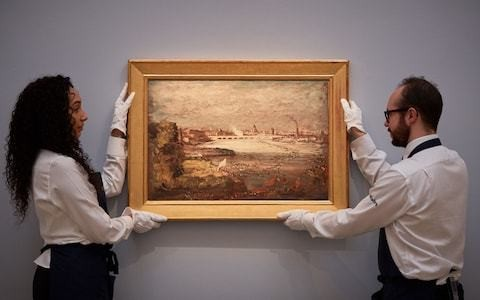 Missing '£1.5m' Constable painting found under the stairs