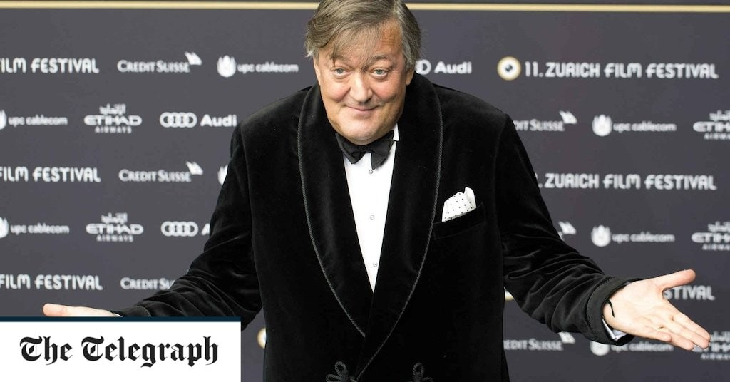 Stephen Fry under police investigation for blasphemy after branding God an 'utter maniac'