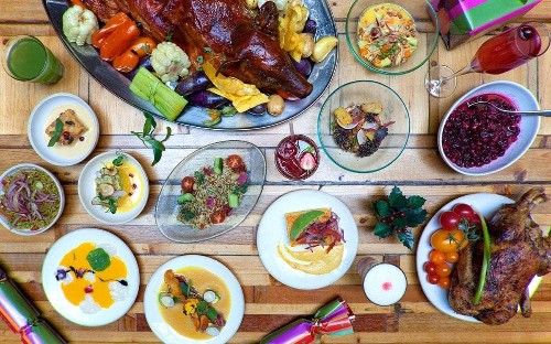 Chefs from around the world reveal what they have for Christmas lunch, from crab claws to crispy duck