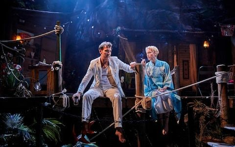 The Night of the Iguana review, Noel Coward Theatre: Clive Owen broods handsomely, but this play is no 'Streetcar'