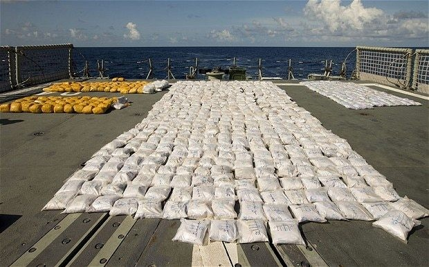 British and Australian navies seize largest ever heroin haul at sea