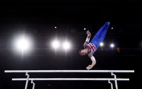 Joe Fraser wins Britain's first gold parallel bars to end memorable World Gymnastics Championships