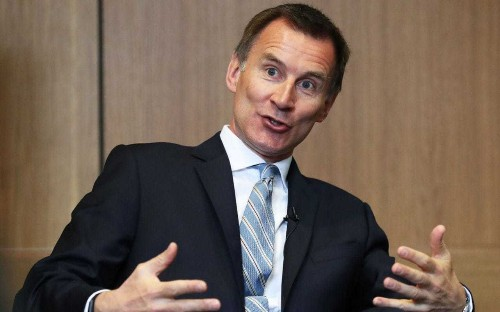 Jeremy Hunt seeks to woo Tory MPs at private dinner as he is nicknamed 'continuity May'