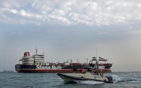 Iran-backed terrorist cells 'ready to strike' UK as tension escalates over seized oil tanker