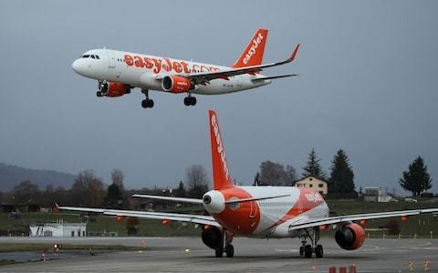Market report: Shares in easyJet climb as it allays fears of airline overcapacity