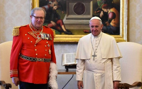 Former head of Knights of Malta defies Vatican to attend election for new leader of ancient order