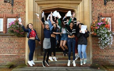 Gap between private and state schools getting top A levels is at its narrowest in a decade