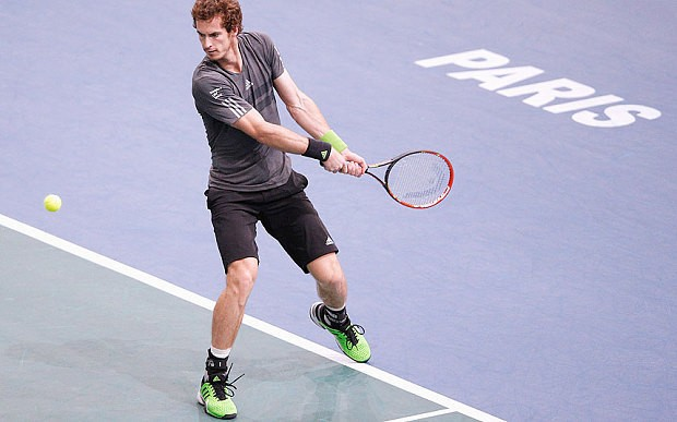 Andy Murray's old-school ways paying off at the Paris Masters
