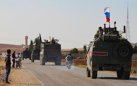 Russians enter Syrian border towns after deal struck with Turkey