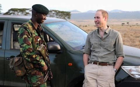 'Their bravery gives me hope': Prince William hails shortlist for Tusk conservation in Africa awards