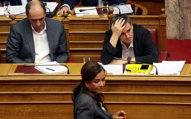 Greece's creditors publish stark debt analysis as Syriza faces bail-out rebellion