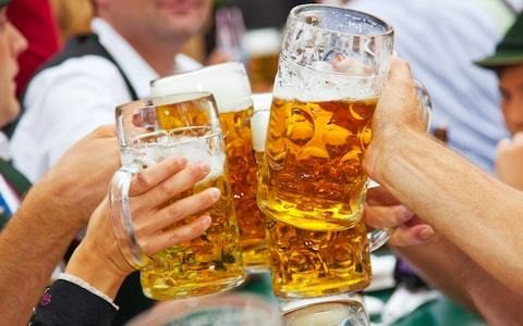 Germans make stand against neo-Nazis by buying town's entire beer supply