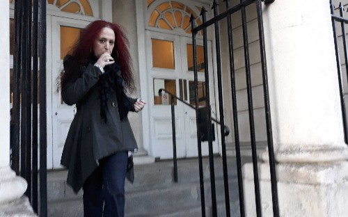 Hammer-wielding wine thief is spared prison because she is transgender