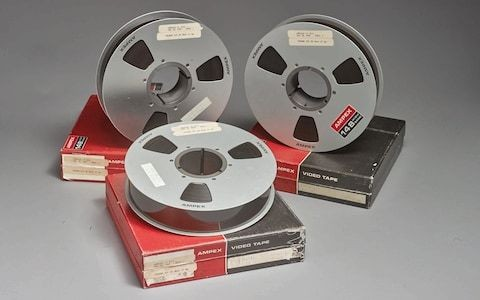 Original moon landing tapes fetch $1.82 million at New York auction