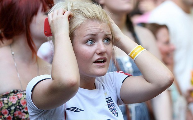 World Cup 2014: England fans most pessimistic
