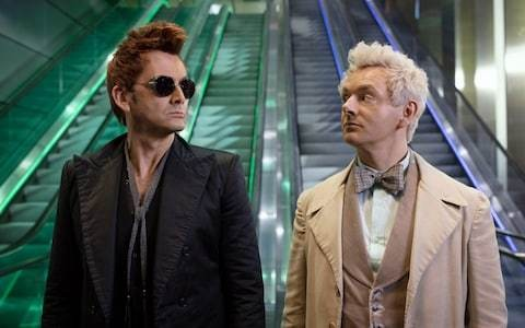 Good Omens, episode 1 review: David Tennant and Michael Sheen's chemistry props up a wobbly apocalypse comedy